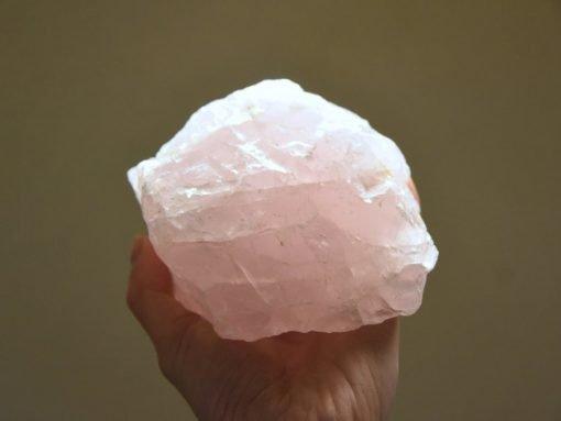 "Raw Rose Quartz Crystal For Sale Specimen 1189g ~5""   LARGE Pink Rose Quartz Chunk Best Crystals Wholesale Bulk Sale"