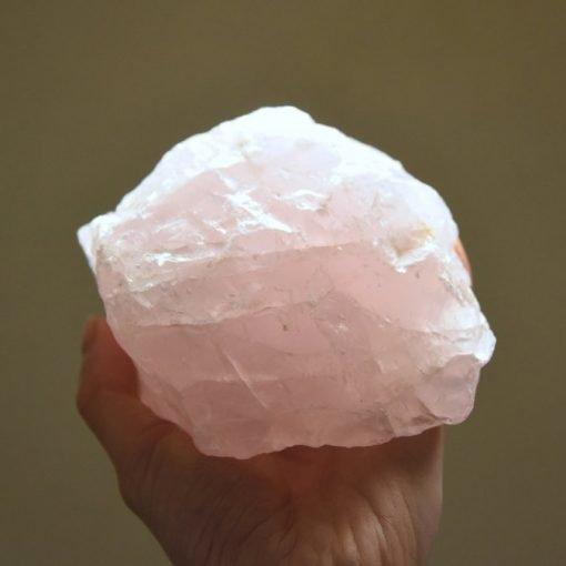 Raw Rose Quartz Crystal For Sale Specimen 1189g ~5