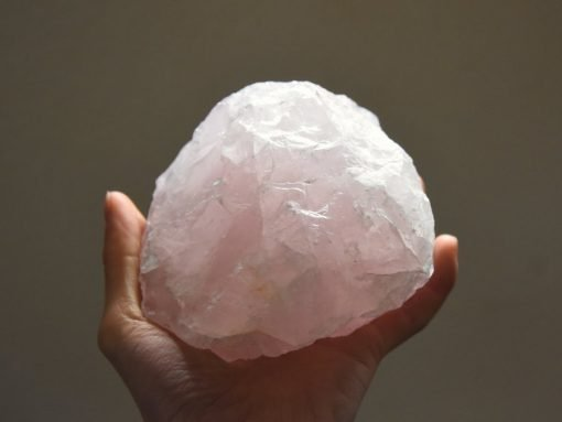 LARGE Raw Rose Quartz Crystal For Sale Natural Rose Quartz Specimen Pink Quartz Chunk
