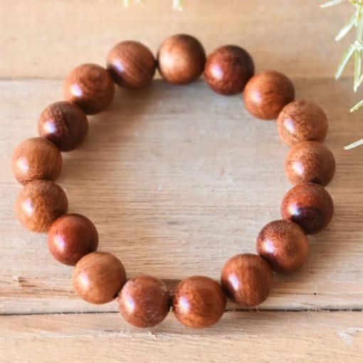 Rosewood Mala Bracelet   Unisex Mala Beads Meditation Jewelry Gift Prayer Beads Bracelet For Men