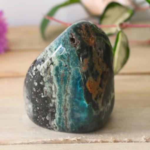 Ocean Jasper Stone Polished Rock LARGE Polychrome Jasper Crystal Natural Sea Jasper Freeform Flame   Buy Unique Crystal Specimen At Best Crystals Wholesale