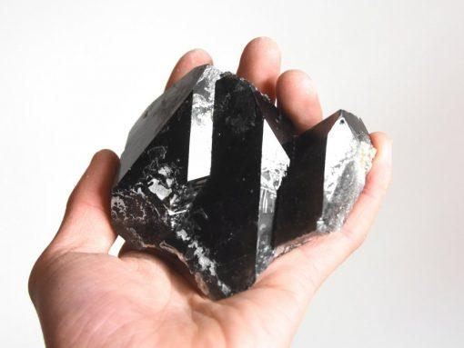 Smoky Quartz Crystal Cluster Natural Dark Smokey Quartz Specimen Sale