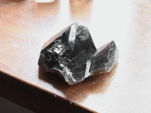 Natural Smoky Quartz Cluster Shelf Decor Black Smokey Smoky Quartz Crystal Specimen