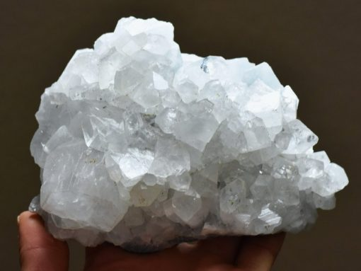 Clear Zeolite Crystal Cluster For Positive Energy