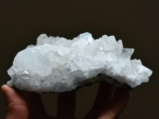 Natural Zeolite Crystal Quartz Display