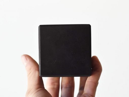 Russian Shungite Crystal Cube Sale   Natural Karelian Shungite For EMF PRotection And Energy Shield