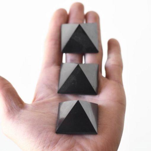 EMF Blocking | Genuine Shungite Crystal Pyramid For Sale