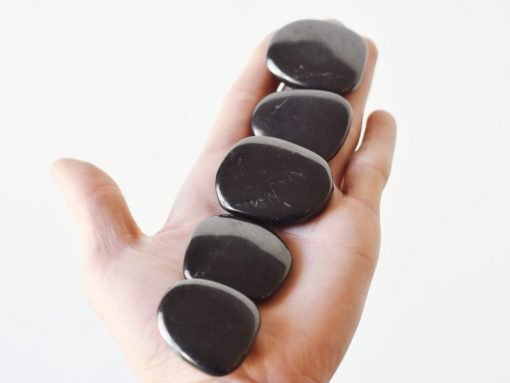 Kremalian Shungite Tumbled Stone Sale | Best Crystals Wholesale